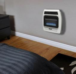 10,000 BTU Blue Flame Vent Free Natural Gas Thermostatic Wal