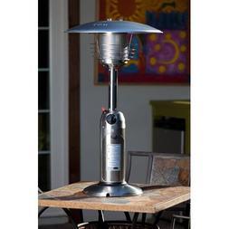 10,000 BTU Stainless Steel Table Top Patio Heater 10,000 BTU