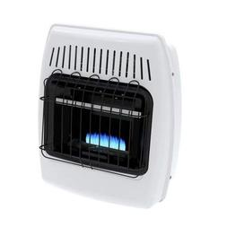 10,000 BTU Liquid Propane Blue Flame Vent Free Wall Heater U