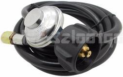 12 Ft Hose Low Pressure Propane Regulator 4 LP BBQ Gas Grill