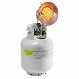15,000 BTU Single Tank Top Heater Liquid Propane Heater w/ 3