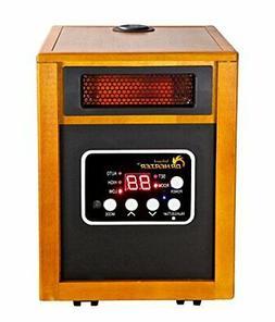 Dr. Infrared Heater 1500-Watt Portable Space Heater Built-In