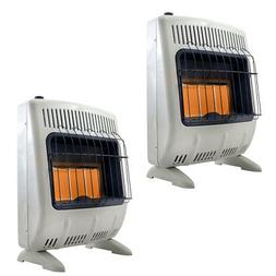 Mr. Heater 18000 BTU Vent Free Radiant 20# Propane Indoor Ou