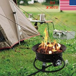 """19"""" Firebowl Outdoor Portable Propane Gas Fire Pit Heater fo"""