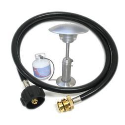 1lb to 20lb Propane Tank Hose Adapter Kit Hose LP Gas Heater
