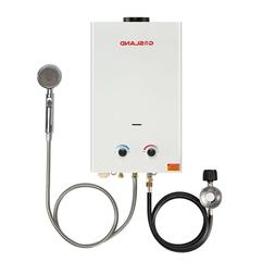 Tankless Water Heater, Gasland BS264 2.64GPM 10L Outdoor Por