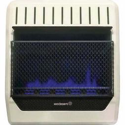 ProCom 20,000 BTU Natural Gas or Propane Gas Vent-Free Blue