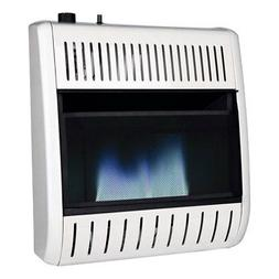 Remington 20000 BTU LP Propane Piezo Blue Flame Vent Free Th