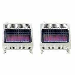 Mr Heater 20000 BTU Vent Free Blue Flame Propane Gas Wall or