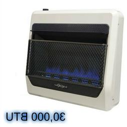 Blue Flame Propane Heater 30,000 BTU Vent Free Heat for Only