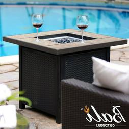 "32"" Propane Fire Pit Table Patio Heater Outdoor Gas Table Fi"