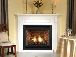 Premium 36 Direct-Vent IP Control LP Fireplace with Blower