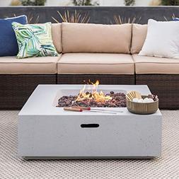 Best Choice Products 35x35in 40,000 BTU Outdoor Backyard Squ