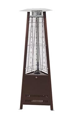 42,000 BTU Outdoor Pyramid Dancing Flames Patio Heater - Ham