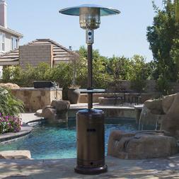 48,000 BTU Outdoor Propane Patio Heater LP Gas with Adjustab
