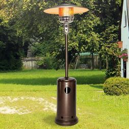 LamQee 48000 BTU Outdoor Propane Patio HeaterWith Wheel Ga