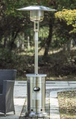 Garden Treasures 48000-BTU Stainless Steel Floorstanding Pro