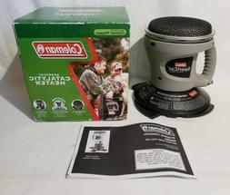 COLEMAN 5035 PORTABLE CATALYTIC PROPANE PERSONAL HEATER 1,50
