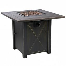 "Bond Manufacturing 51348A Propane Pit Fire Table, 30"" 50k BT"