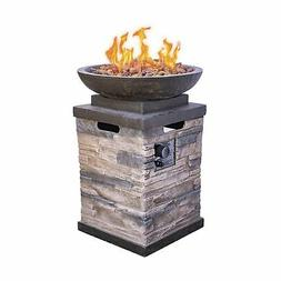 Bond Manufacturing 63172 Firepit Heater Propane Firebowl Col