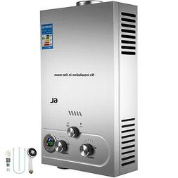 6L Tankless Hot Water Heater Propane Gas LPG Auto-protection