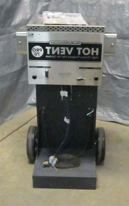 70000btuh portable propane high output hot air