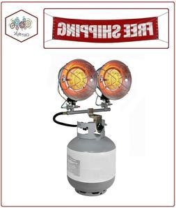Dyna-Glo DELUX Double Tank Top Propane  Heater - 9K-30K BTU