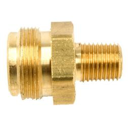 "Mr. Heater 1/4 Male Pipe Thread x 1""-20 Male Throwaway Cylin"