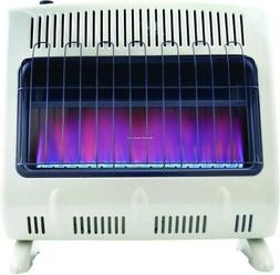Mr. Heater Vent-Free 30,000 BTU Blue Flame Propane Heater On