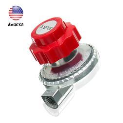 Adjustable 20psi Propane Regulator LP Gas Heater Stove Cylin