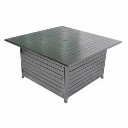 Legacy Heating 45-inch All Aluminum Square Fire Pit Table CD
