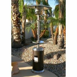 az patio heater stainless steel and hammered
