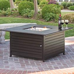 Best Choice Products Extruded Aluminum Gas Outdoor Fire Pit
