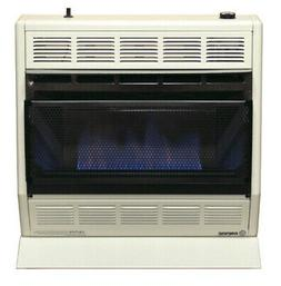 Empire BF-30W-LP 30,000 BTU Blue Flame Vent-Free Gas Heater