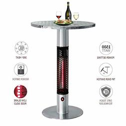 Skypatio Bistro Table Infrared Electric Outdoor Heater,Patio