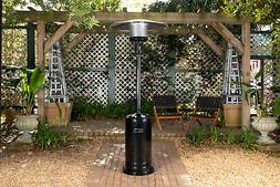 black sapphire propane patio heater