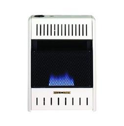 Blue Flame Wall Heater - 10,000 BTU Output, 300 Sq. Ft. Heat
