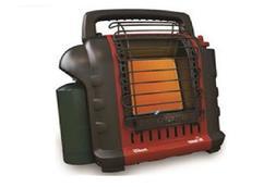 Mr. Heater Buddy Heater 9K BTU Propane Fueled, Red, MH9BX, N