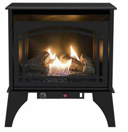 Cast Iron Vent Free Gas Stove Heater Propane Free Standing D