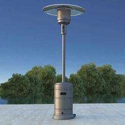Fire Sense Commercial 46,000 BTU Propane Patio Heater - Gray