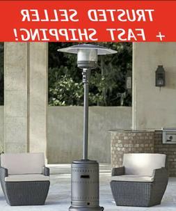 Fire Sense Commercial 46,000 BTU Propane Patio Heater Gray F