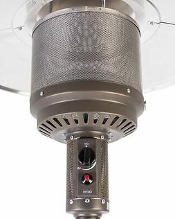 Fire Sense Commercial 46,000 BTU Standing Patio Heater