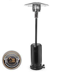 Commercial Outdoor LP Propane Gas Patio Heater with Cover -