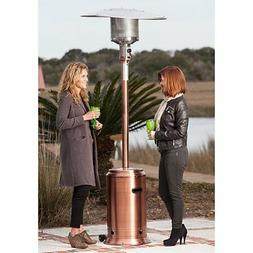 Fire Sense Copper Commercial Patio Heater, brass