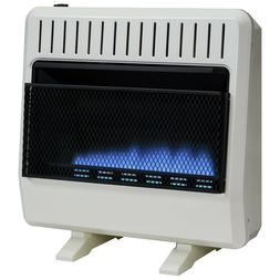 Avenger Dual Fuel Vent Free Blue Flame Heater - 30,000 BTU,