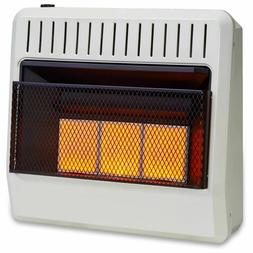 dual fuel vent infrared heater