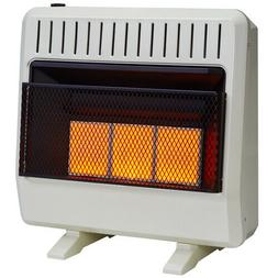 Avenger Dual Fuel Ventless Infrared Gas Space Heater With Bl