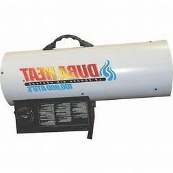 Duraheat 70k-125k Btu Propane Forced Air Heater - Gas, Elect