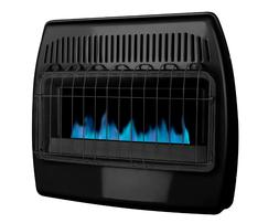 Dyna-Glo Dual Fuel Garage Heater 30,000 BTU Blue Flame Vent