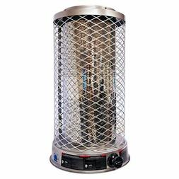 Dyna-Glo Portable Natural Gas Powered Radiant Heater, Silver